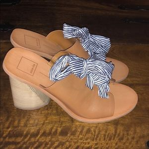 NWOT Dolce Vita Lace Up Wedges